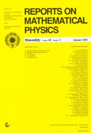 ksiazka tytuł: Reports on Mathematical Physics 65/1 2010 Kraj autor: