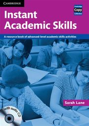 Instant Academic Skills with Audio CD, Sarah Lane
