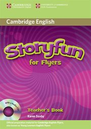 Storyfun for Flyers Teacher's Book + CD, Saxby Karen