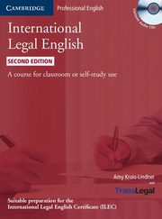 ksiazka tytuł: International Legal English + 3CD autor: Krois-Lindner Amy