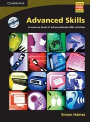 Advanced Skills Book and Audio CD, Haines Simon