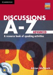 Discussions A-Z Advanced +CD, Wallwork Adrian