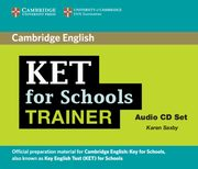 KET for Schools Trainer Audio 2CD, Saxby Karen