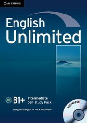 English Unlimited Intermediate Self-study Pack with DVD-ROM, Baigent Maggie, Robinson Nick