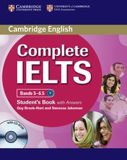 Complete IELTS Bands 5-6.5 Student's Book with answers + CD, Brook-Hart Guy, Jakeman Vanessa
