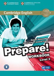 Cambridge English Prepare! 3 Workbook, Holcombe Garan