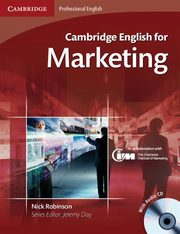 Cambridge English for Marketing Student's Book + CD, Robinson Nick