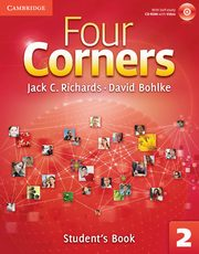 Four Corners 2 Student's Book with Self-study CD-ROM, Richards Jack C., Bohlke David