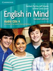 English in Mind 4 Audio 4CD, Puchta Herbert, Stranks Jeff