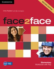 Face2face Elementary Workbook with key, Redston Chris, Cunningham Gillie