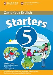 Cambridge English Starters 5 Student's Book,