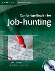 Cambridge English for Job-hunting Student's Book + CD, Downes Colm