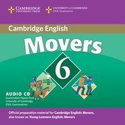 Cambridge Young Learners English Tests 6 Movers Audio CD,
