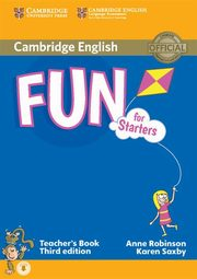 Fun for Starters Teacher's Book, Robinson Anne, Saxby Karen