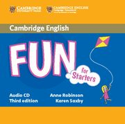 Fun for Starters Audio CD, Robinson Anne, Saxby Karen