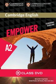 Cambridge English Empower Elementary Class DVD, Doff Adrian, Thaine Craig, Puchta Herbert, Stranks Jeff, Lewis-Jones Peter