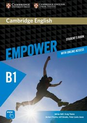 Cambridge English Empower Pre-intermediate Student's Book with online access, Doff Adrian, Thaine Craig, Puchta Herbert