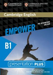 Cambridge English Empower Pre-Intermediate Presentation Plus, Doff Adrian, Thaine Craig, Puchta Herbert, Stranks Jeff, Lewis-Jones Peter
