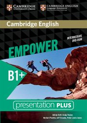 ksiazka tytuł: Cambridge English Empower Intermediate Presentation Plus DVD-ROM autor: Doff Adrian, Thaine Craig, Puchta Herbert, Stranks Jeff, Lewis-Jones Peter, Godfrey Rachel, Davies Gareth