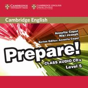 ksiazka tytuł: Cambridge English Prepare!  5 Class Audio 2CD autor: Capel Annette, Joseph Niki