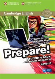 Cambridge English Prepare! 6 Student's Book, Styring James, Tims Nicholas