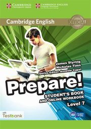 Cambridge English Prepare! 7 Student's Book online Workbook, Styring James, Tims Nicholas