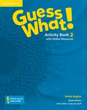 Guess What! 2 Activity Book with Online Resources, Rivers Susan