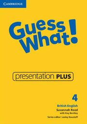 Guess What! 4 Presentation Plus DVD, Reed Susannah, Bentley Kay