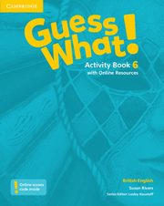 ksiazka tytuł: Guess What! 6 Activity Book with Online Resources autor: Rivers Susan