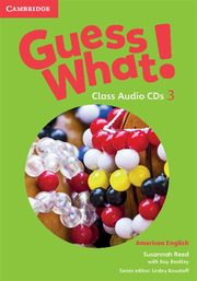 Guess What 3 Class Audio CDs, Reed Susannah, Bentley Kay