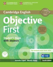 Objective First Student's Book with answers, Capel Annette, Sharp Wendy