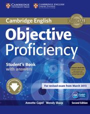ksiazka tytuł: Objective Proficiency Student's Book with answers + 2CD autor: Capel Annette, Sharp Wendy