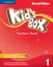Kid's Box Second Edition 1 Teacher's Book, Frino Lucy, Williams Melanie
