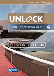 Unlock  4 Listening and Speaking Skills Presentation Plus, Lansford Lewis