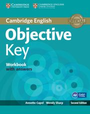 Objective Key Workbook with Answers, Capel Annette, Sharp Wendy