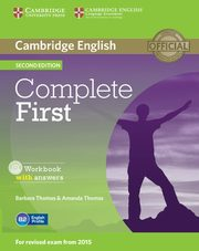 Complete First Workbook with answers + CD, Thomas Barbara, Thomas Amanda