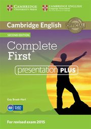 Complete First Presentation Plus DVD, Brook-Hart Guy, Thomas Barbara, Thomas Amanda