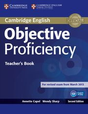 Objective Proficiency Teacher's Book, Capel Annette, Sharp Wendy