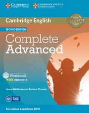 Complete Advanced Workbook with answers + CD, Matthews Laura, Thomas Barbara