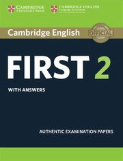 Cambridge English First 2 Student's Book with answers,