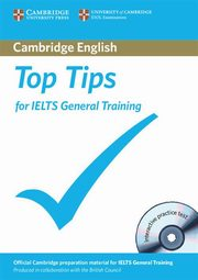 Top Tips for IELTS General Training + CD,