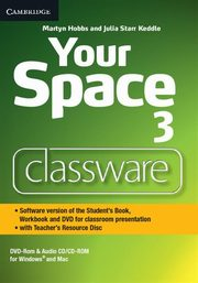 Your Space Level 3 Classware DVD-ROM with Teacher's Resource Disc, Hobbs Martyn, Keddle Julia Starr