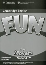 Fun for Movers Teacher's Book, Robinson Anne, Saxby Karen
