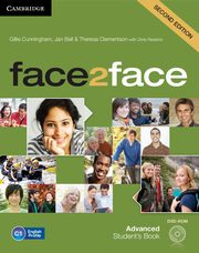 face2face Advanced Student's Book + DVD,
