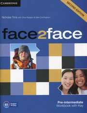 face2face Pre-Intermediate Workbook with key, Tims Nicholas, Redston Chris, Cunningham Gillie