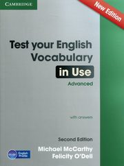 Test Your English Vocabulary in Use Advanced with answers, McCarthy Michael, ODell Felicity