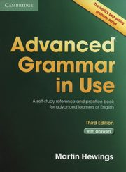 Advanced Grammar in Use with Answers, Hewings Martin