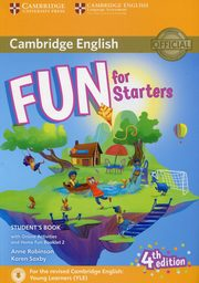 Fun for Starters Student's Book with Online Activities with Audio and Home Fun Booklet 2, Robinson Anne, Saxby Karen