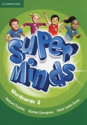 Super Minds Wordcards 2, Puchta Herbert, Gerngross Gunther, Lewis-Jones Peter