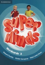 Super Minds Wordcards, Puchta Herbert, Gerngross Gunther, Lewis-Jones Peter
